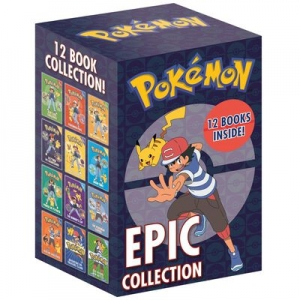 Pokemon Epic Collection: Seria 12 Książek